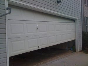 we can repair your garage door off track