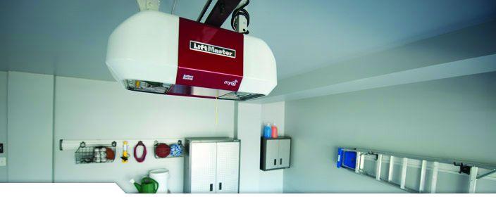 Liftmaster Belt Drive garage door Opener is quiet, smooth running, and nergy efficient