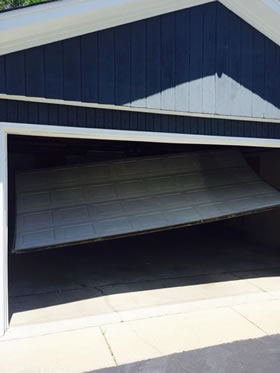 Garage Door Off It's Track