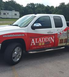 Aladdin Garage Doors Houston Texas